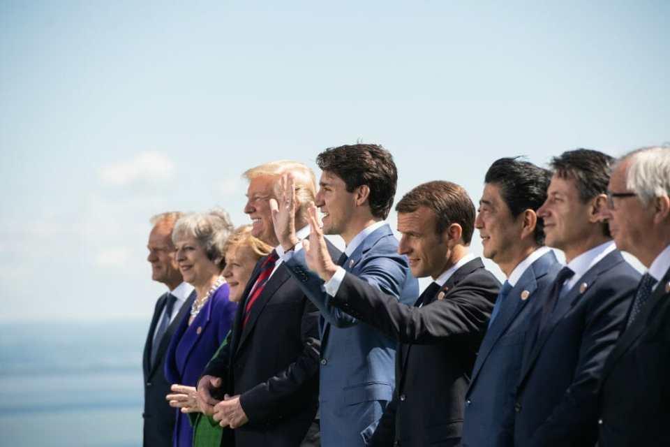 G7 summit proves US-EU trade war to deepen