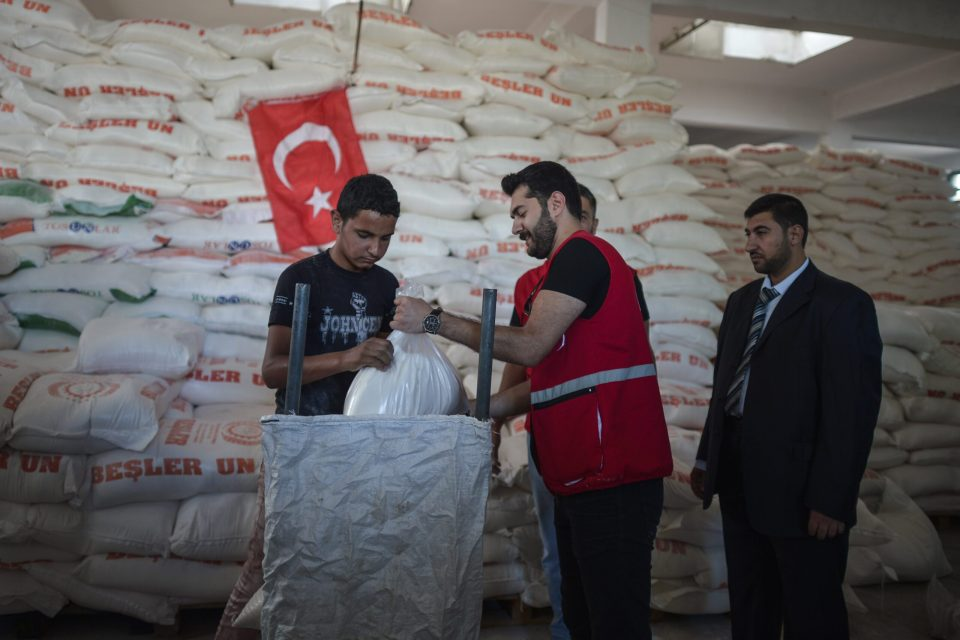 Turkish Aid to Palestinian Refugees