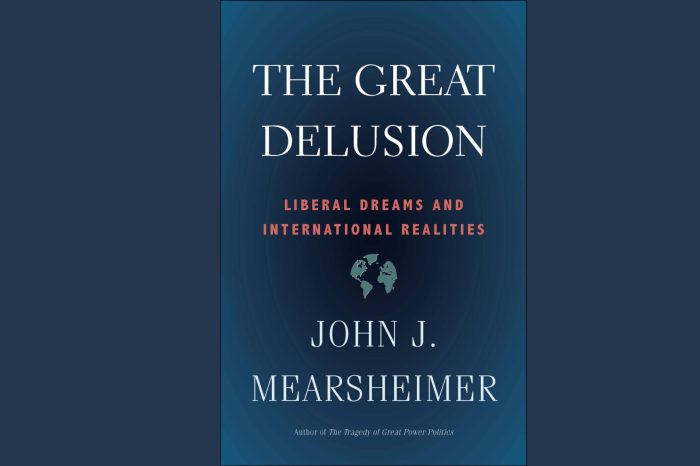 Book Discussion with John J. Mearsheimer