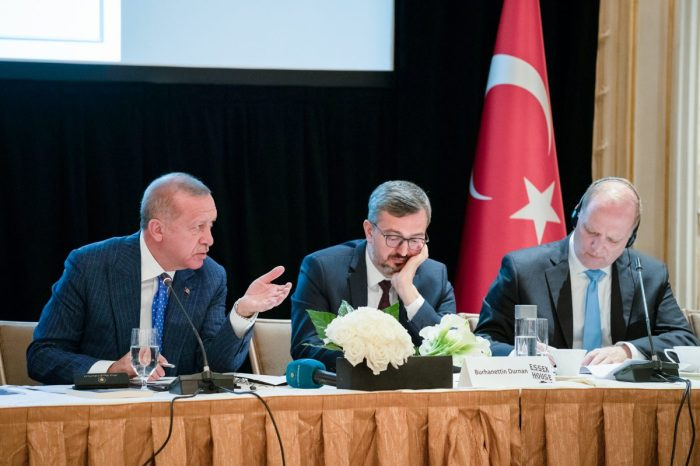 Event Summary: A Private Roundtable Conversation with His Excellency Recep Tayyip Erdoğan