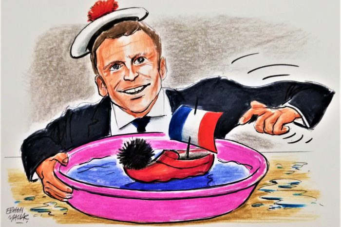 Macron's East Med provocations out of control