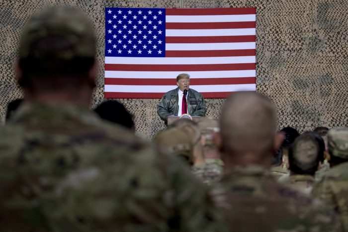 US civil-military relations and Donald Trump