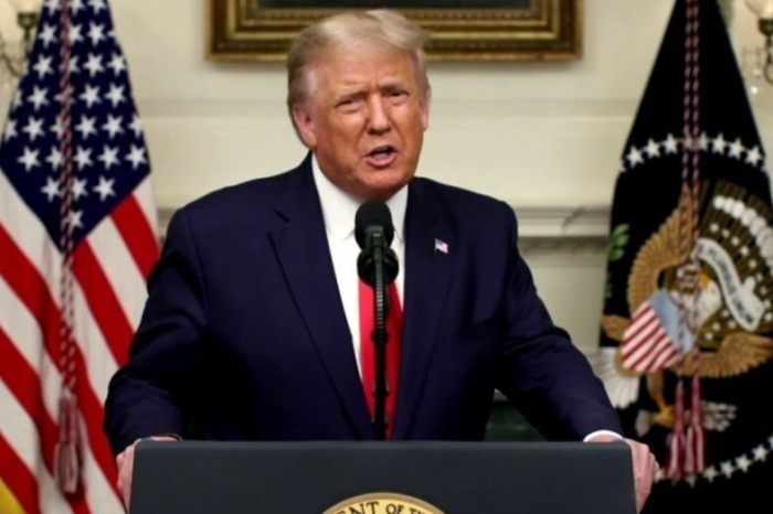 Trump BM Konuşmasında 'Önce Amerika' Dedi