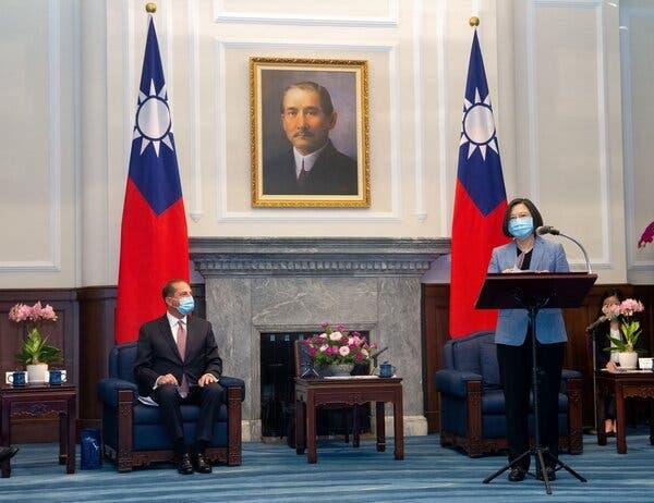 ABD'nin Tayvan'a Üst Düzey Ziyaretine Çin'den Tepki