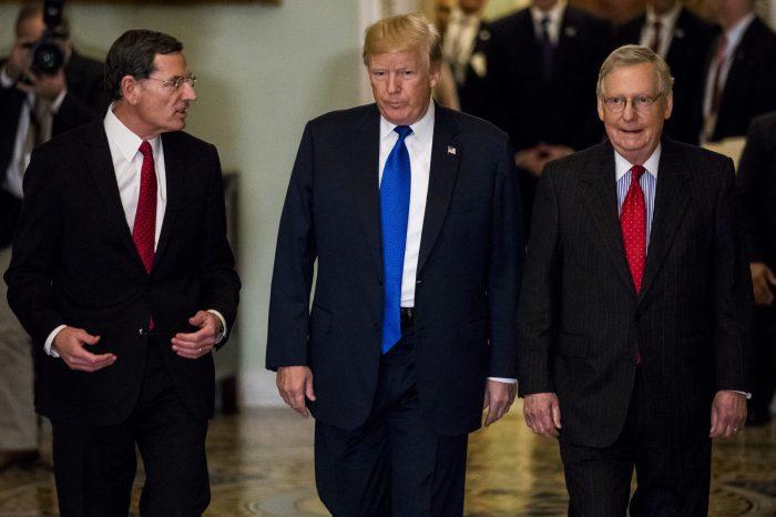 Trump'la Kongre Cumhuriyetçileri Arasında Gerilim