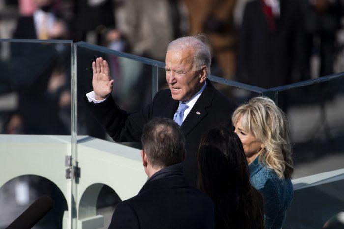 ABD'nin 46. Başkanı Joe Biden Yemin Ederek Göreve Başladı
