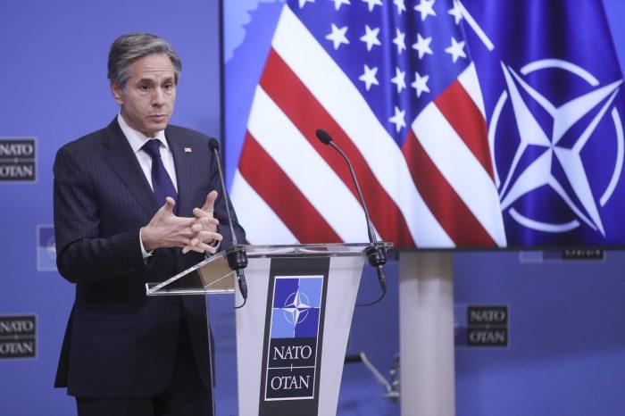 Blinken NATO Dışişleri Bakanları Toplantısına Katıldı
