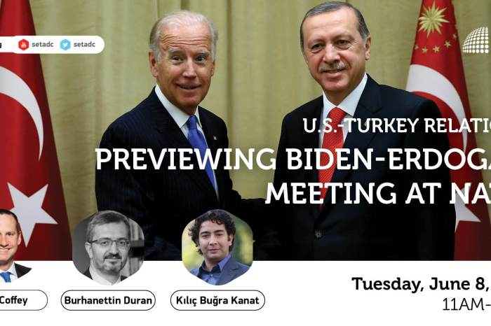 Event Summary: US-Turkey Relations: Previewing the Biden-Erdogan Meeting at NATO