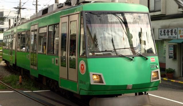 東急世田谷線の電車