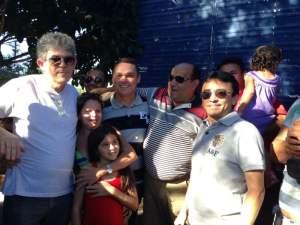 Gov. Ricardo Coutinho, Amazan, Antônio de Padua e Arlan Rodrigues