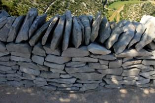 Murs en pierres sèches Navacelles