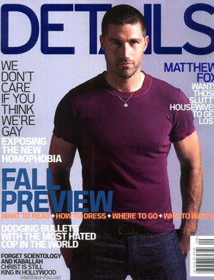 Matthew Fox - Details Magazine