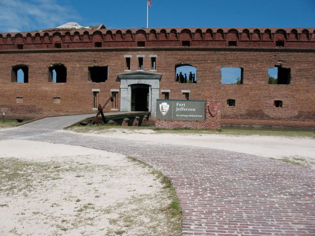 Entrance to Fort Jefferson