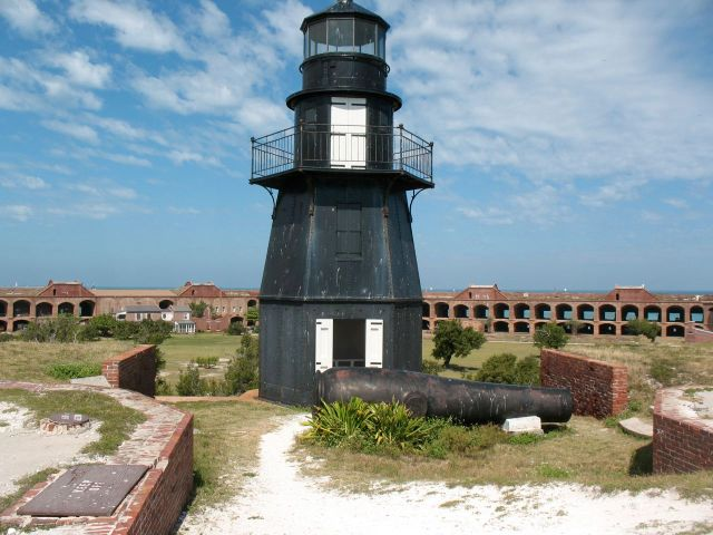 Lighthouse at Fort Jefferson