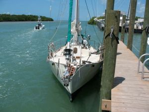 Sirocco in Boot Key Harbor