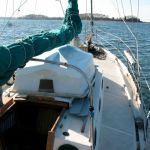 Fitting the hard dinghy to Sirocco