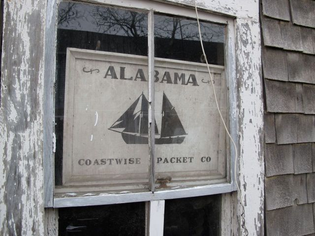 Packet ship sign