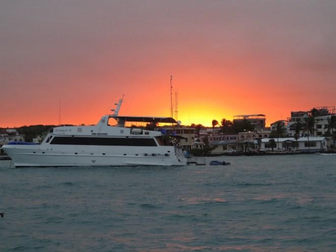 Puerto Ayora sunset