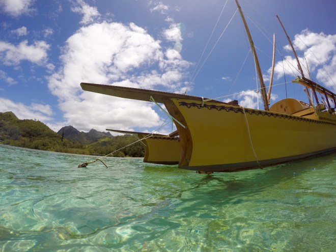 Catamaran, Muri Lagoon, Rarotonga