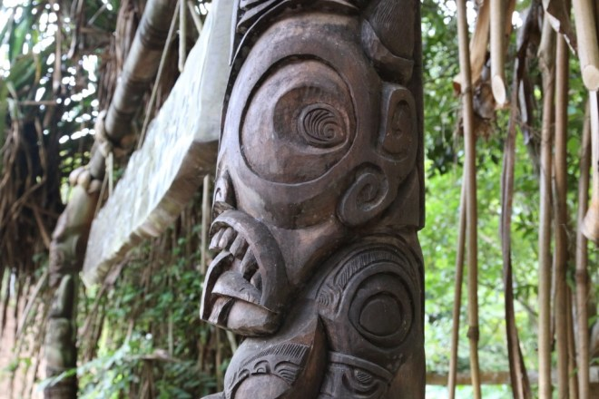Marquesan Carving