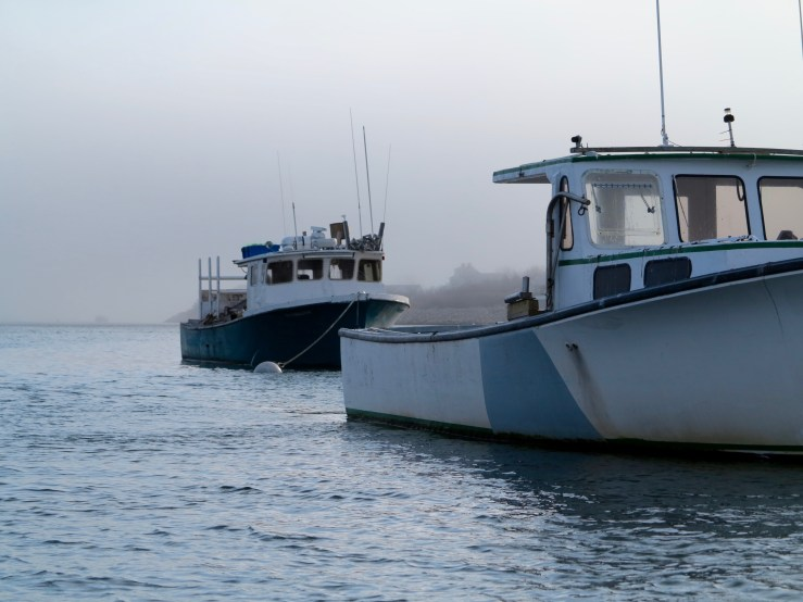 Fishing boats in Chatham harbor