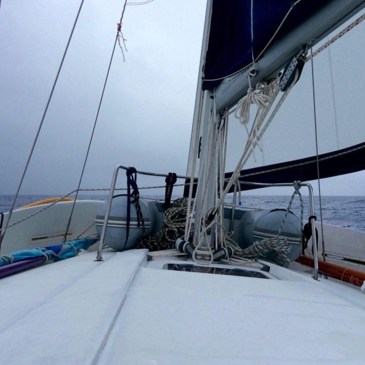Beneteau 445 sailing Rarotonga to Opua