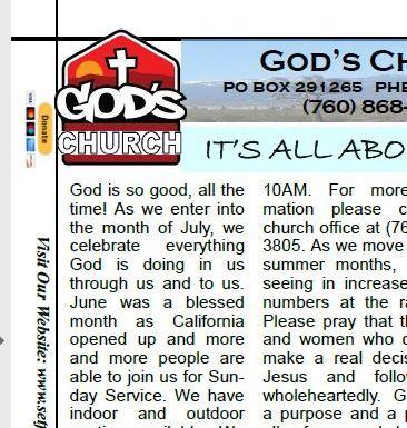 August Newsletter (Must Read)