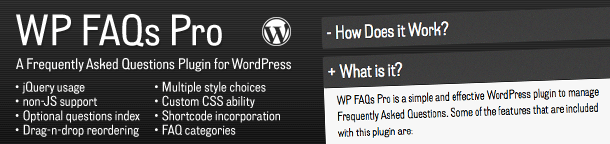 Premium Plugin for Sale: WP FAQs Pro