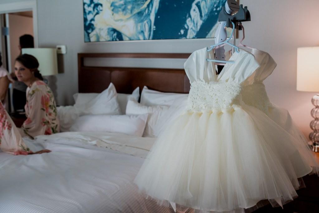 dresses at Summer Westin Wedding Columbus