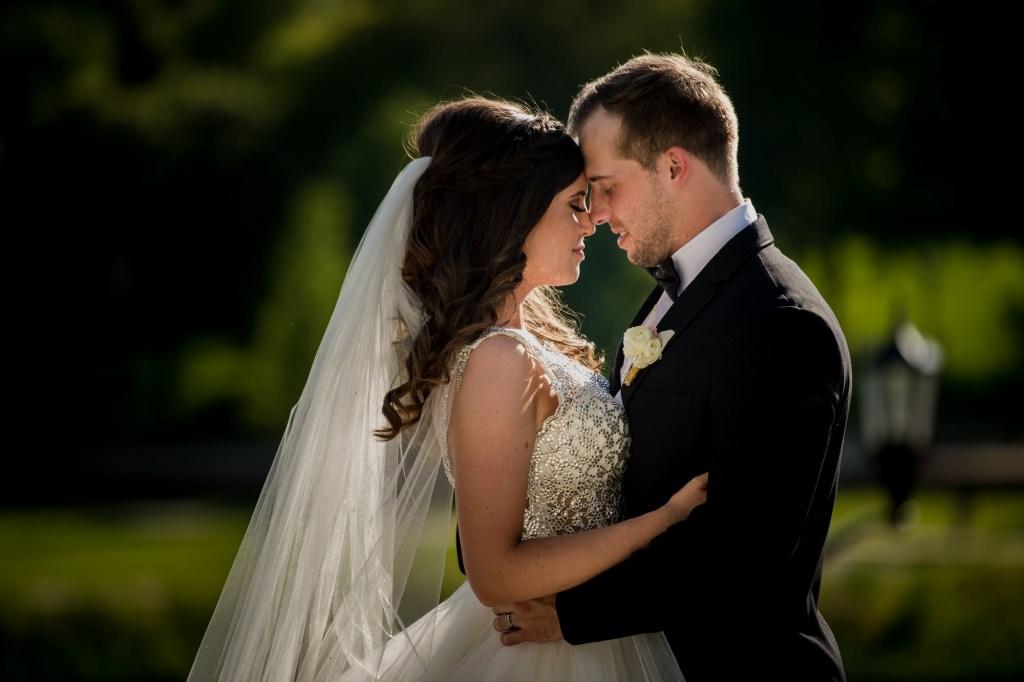 couple at Summer Westin Wedding Columbus