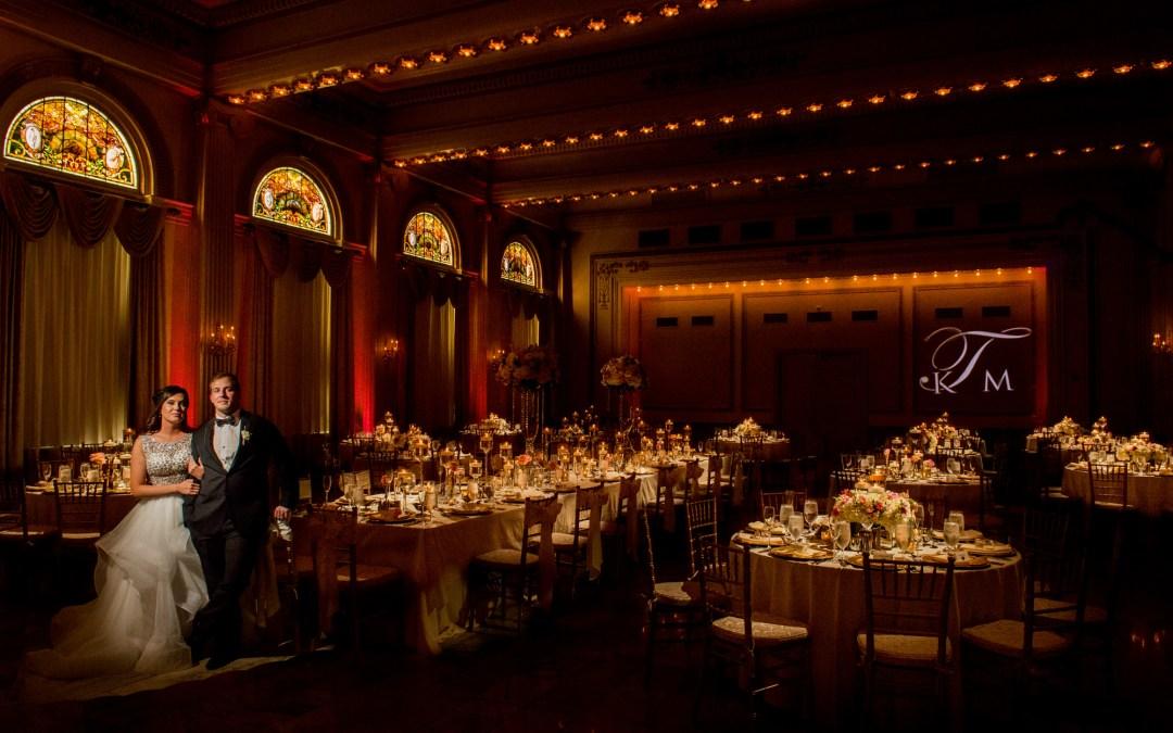 reception at Summer Westin Wedding Columbus