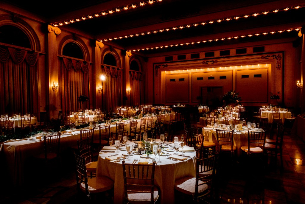 reception venue at columbus ohio westin wedding