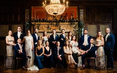 Athletic Club Wedding Photos