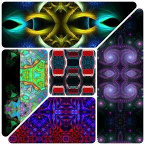 32217 Kaleidoscopic Humanoids