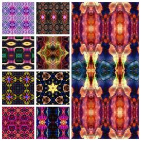 4217 Kaleidoscopic Humanoids