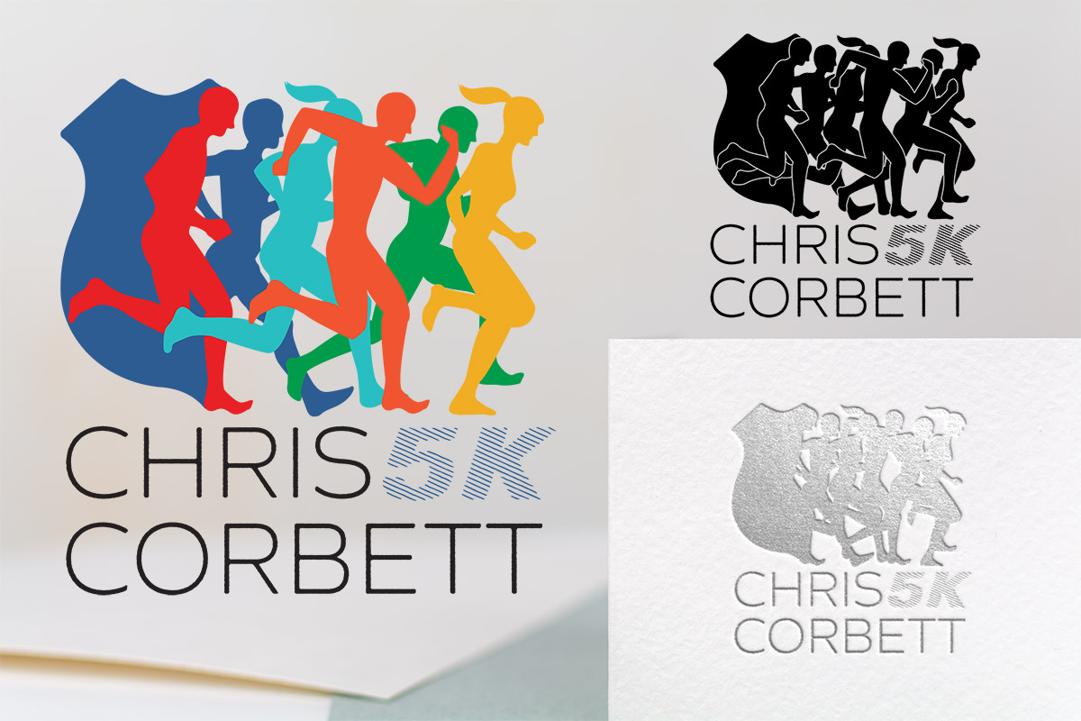 Chris Corbett 5k Event Logo