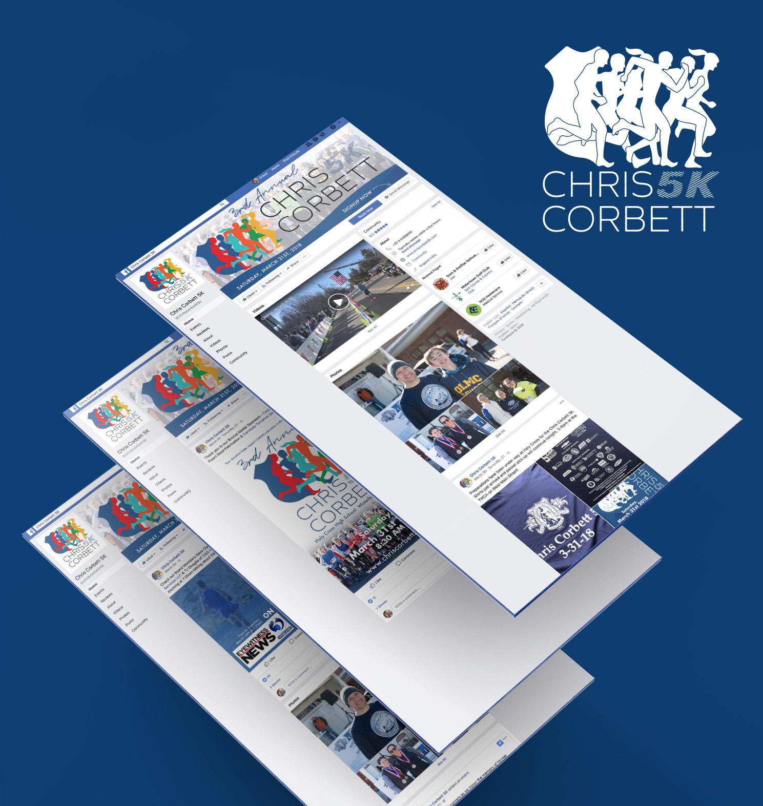 Chris Corbett 5k Social Media