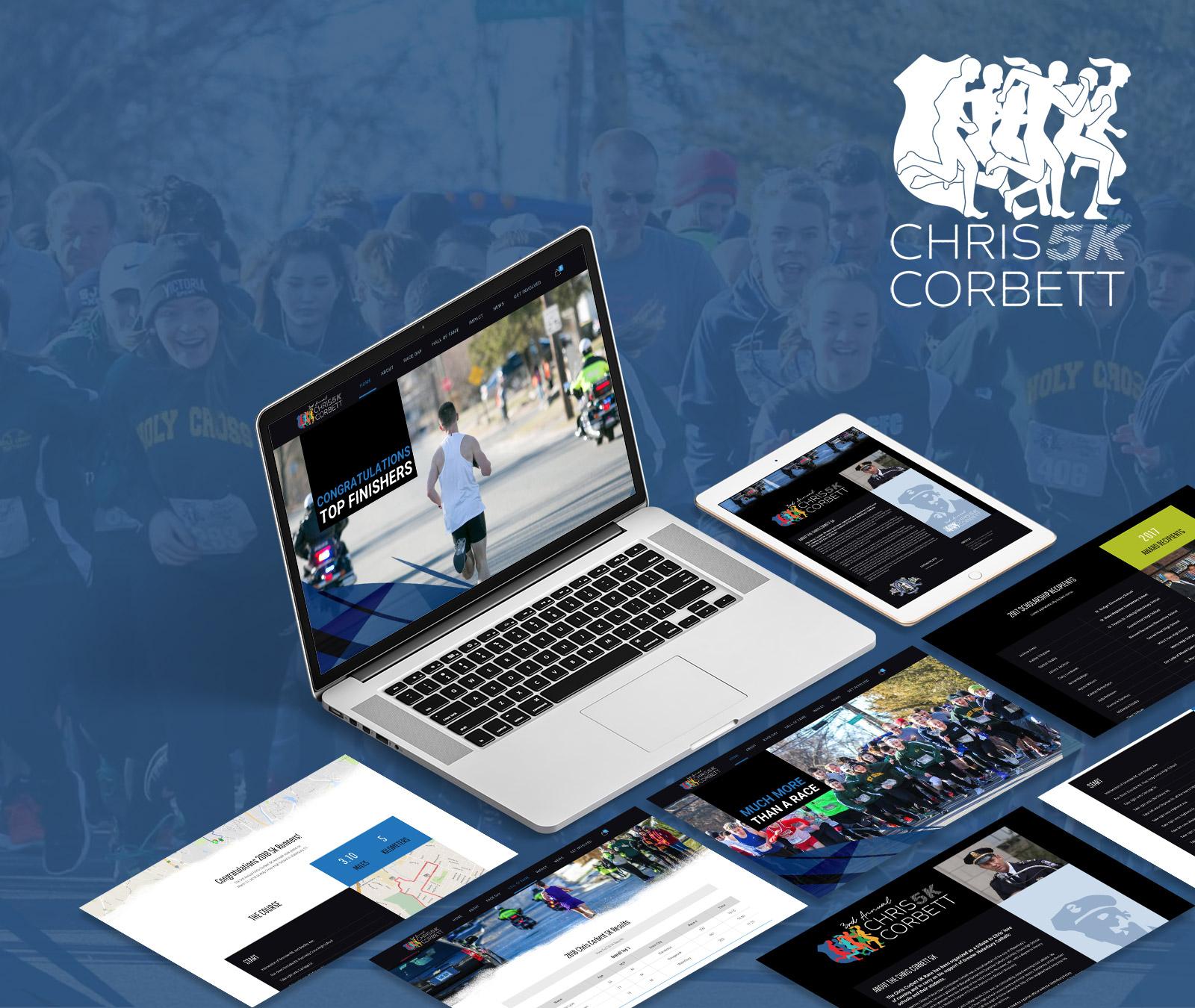 Chris Corbett 5k Website