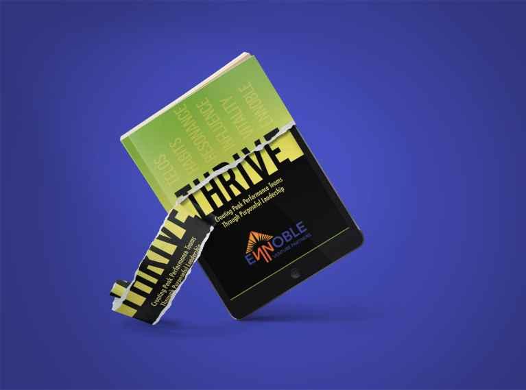 Ennoble Venture Partners THRIVE™ eBook Design