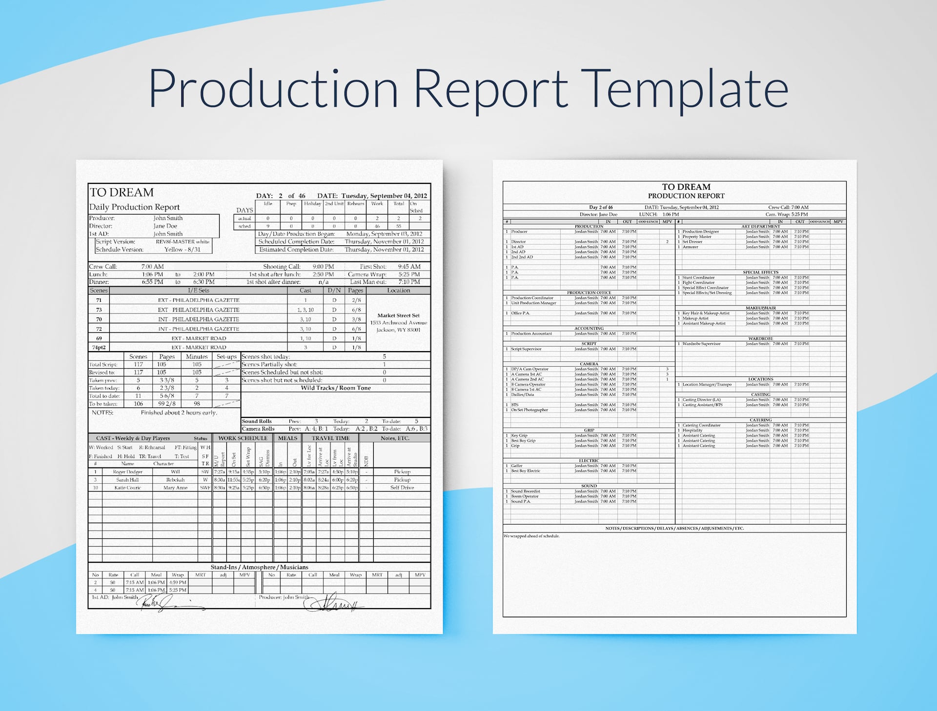 Sample Worksheet On Production Cost