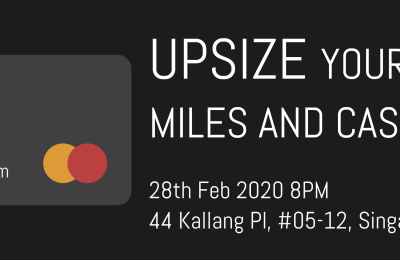 Talk: Upsize Your Miles and Cashback