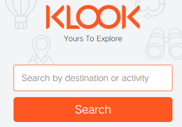 Klook Singapore Search Pic