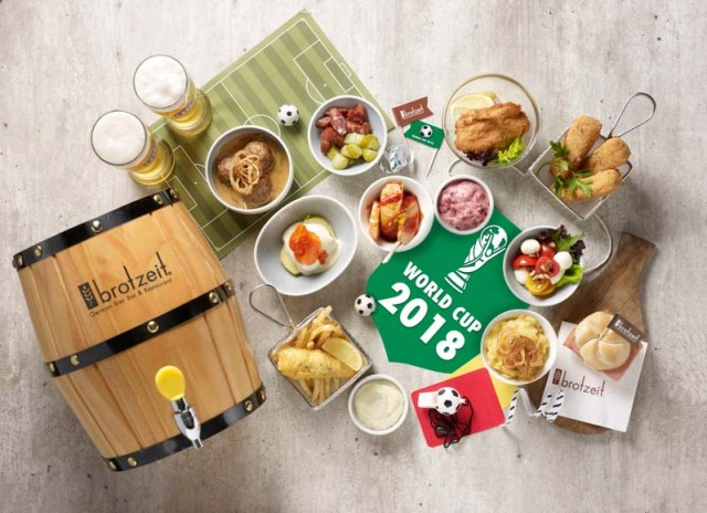 Brotzeit 2 Watch The World Cup 2018 At Brotzeit Selected Outlets With Free Flow Beer & Assorted Tapas Till 15 July