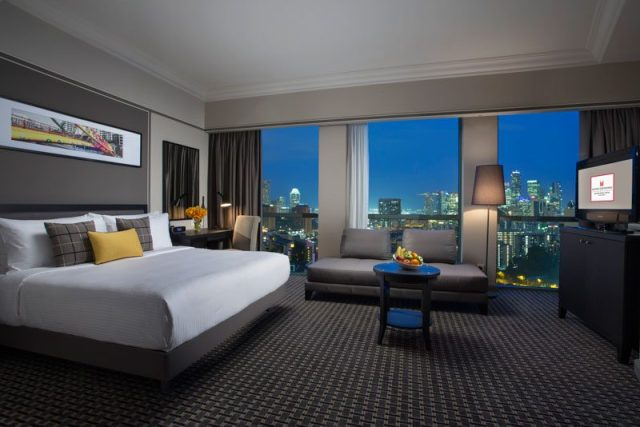 Grand Copthorne Waterfront Hotel Club Deluxe Bayview Room Online 1