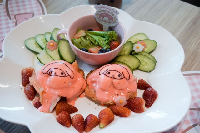 My Melody Cafe 8 My Melody Cafe: Pink Eggs Benedict & Adorable Bunny Themed Dishes At Suntec City