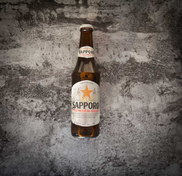 Sapporo Beer 12