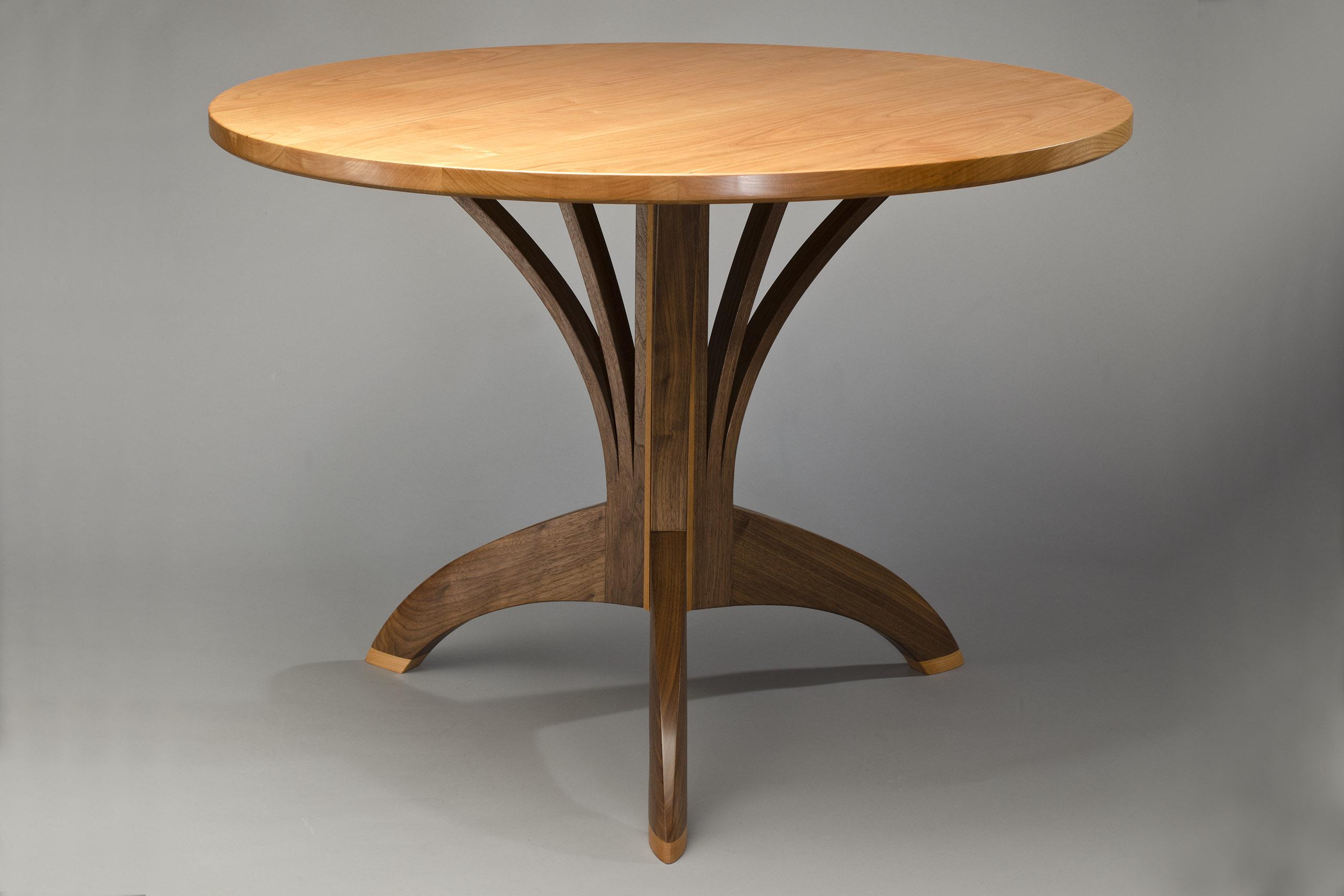 arbol cafe table artisan hardwood dining table seth rolland