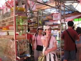 One of the fish stall there..