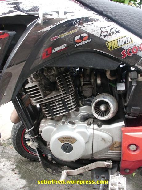 efek samping pakai open filter pada sepeda motor