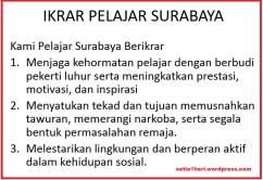 ikrar pelajar surabaya